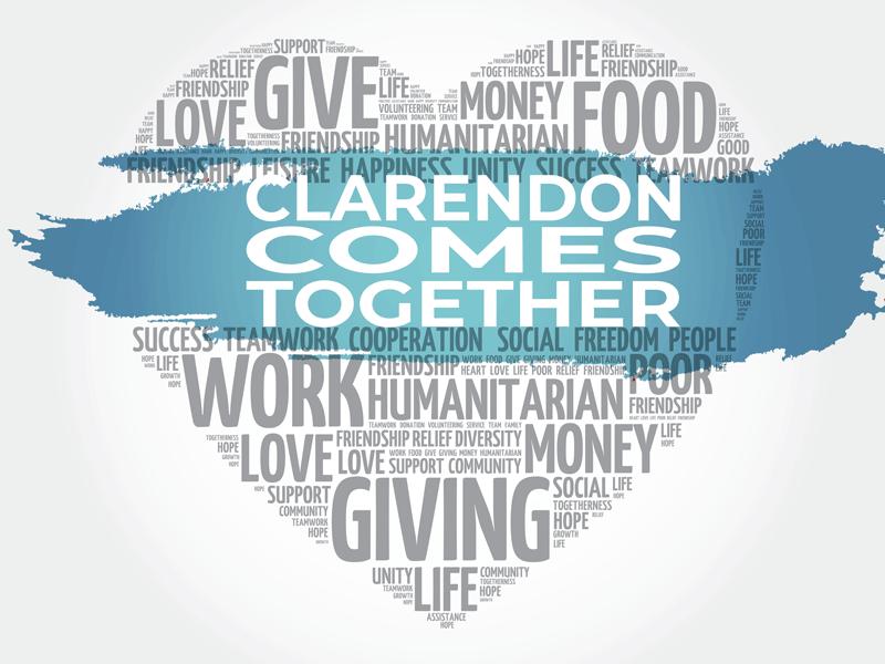 Clarendon Comes Together Blue