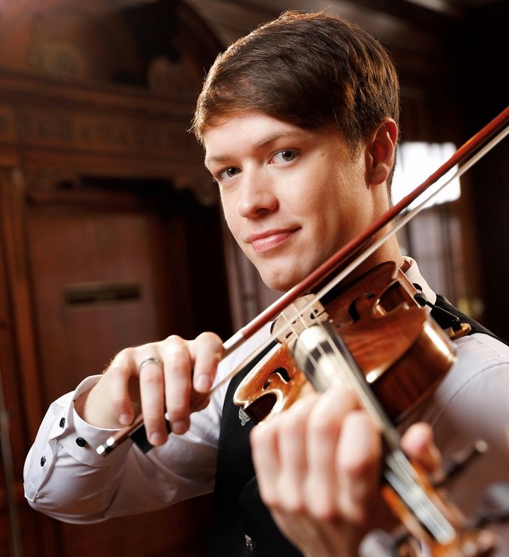 Seán Heely Violinist Artist In Residence Strathmore