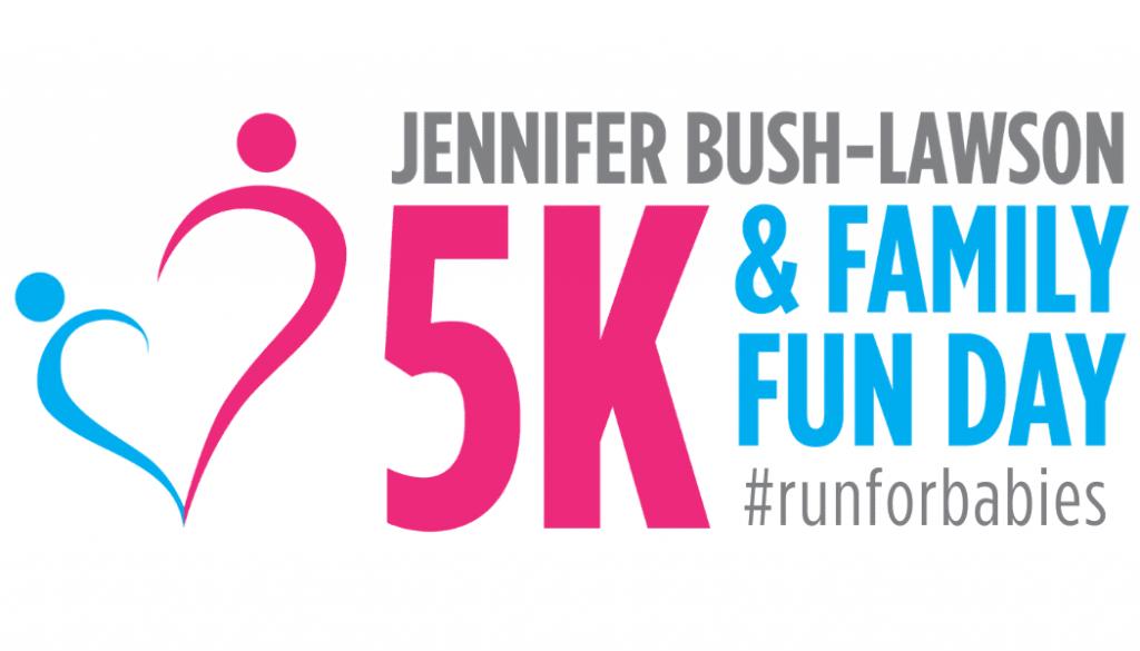 5k Logo W Run For Babies