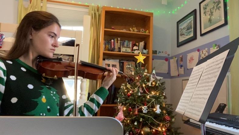 Angela Feldman Violinist