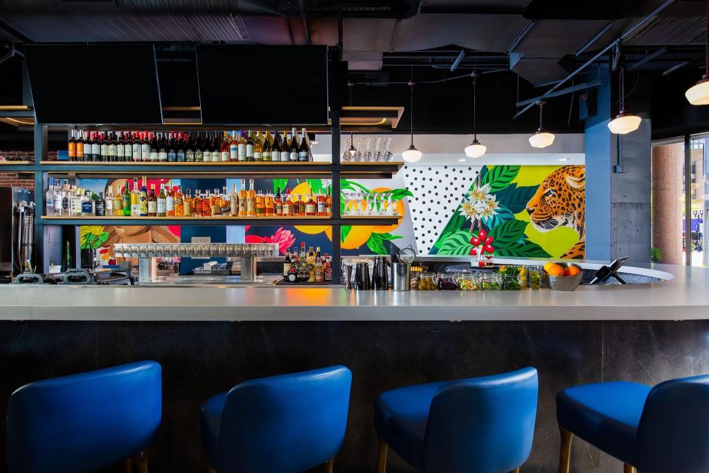Bar And Mural