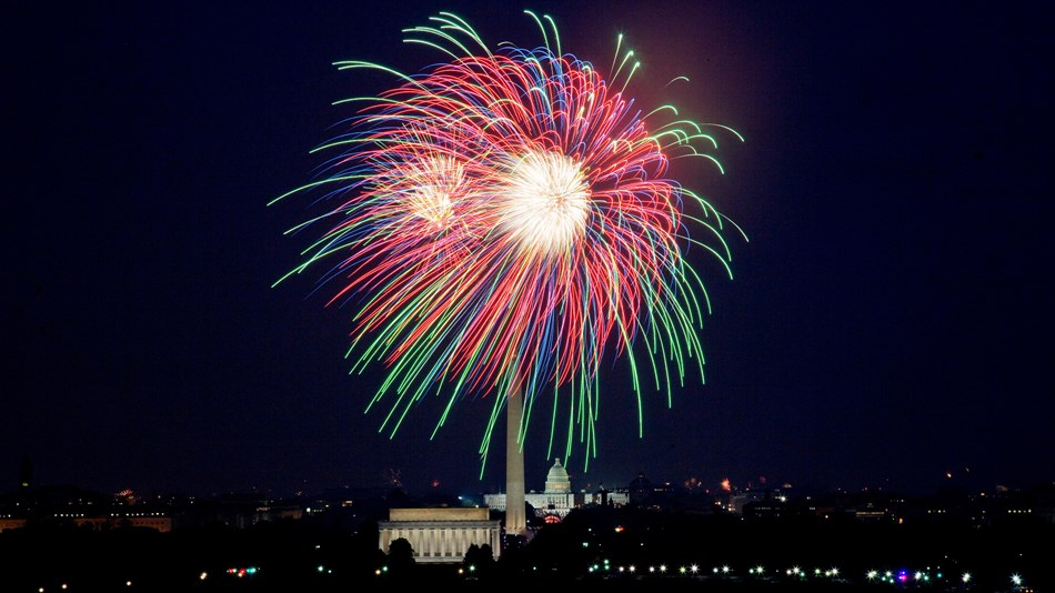National Mall Fireworks