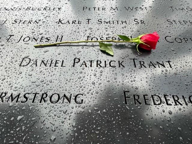 Suzanne Garwoods Cousin 911 Memorial