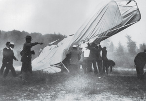 The 1908 crash site. Courtesy of the U.S. Army
